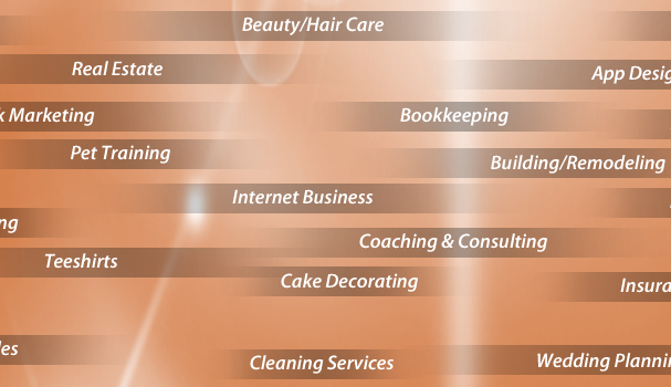 A Vast Amount of Home Business Categories