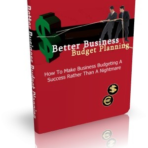 Better Business Budget Planning Cover