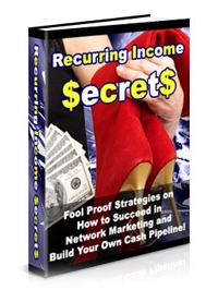 Recurring Income Secrets Cover