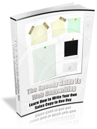 The Speedy Guide to Web Copywriting Cover