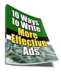 Write More Effective Ads Cover